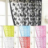 Butterfly Tassel String Door Window Room Curtain Divider Panel Scarf