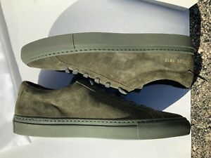 Suede Shoes Green COMMON PROJECTS for