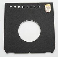 Linhof Technika Objektivplatte Objektivbrett 96mm x 99mm - Ø 66mm