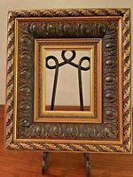 Vintage Napoleonic Design Gold Gilded & Gesso Deep Core Wood Picture Frame