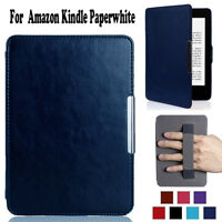 For Amazon Kindle Paperwhite 1 2 3 Case Premium Magnetic PU Leather Smart Cover