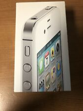 iPhone 4S White 8GB AT&T Empty Box with Tray & Manual Only No phone - Free Ship