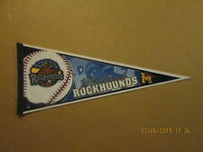 Texas League Midland Rockhounds Vintage 2000's Team Logo Baseball Pennant
