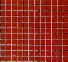 Glasmosaik Fliese rot Küchenrückwand BAD Fliesenspiegel WC 70-0904_f | 10 Matten