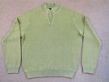 $195 Bobby Jones Pima Cotton V-Neck Sweater - Made In Peru - Xl - NewwTags