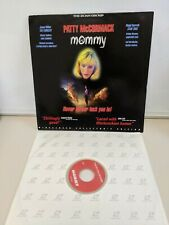 UNRATED MOMMY COLLECTORS EDITION LB CLV LASERDISC! HORROR PATTY MCCORMACK