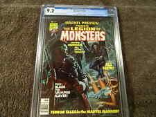 1976 MARVEL Comics MARVEL PREVIEW #8 LEGION Of MONSTERS /BLADE MORBIUS - CGC 9.2