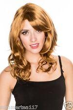 Halloween Brown Animation Women Fashion Sexy Cosplay Wig Wavy Costume H0106MB
