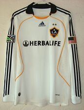 Los Angeles Galaxy Adidas MLS 2008 Beckham Formotion Player Issue Soccer Jersey
