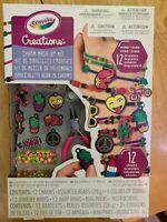 CRAYOLA CREATIONS NEON CHARM MASH-UP KIT - Makes 12 Bracelets