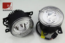 High Quality DRL+ FOG Light Daytime Running Lights Round 4-LED CREE HQ-V17 B