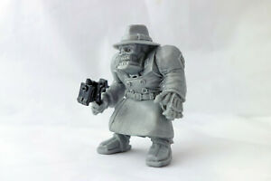 Max Hut SS Cyber Agent, Undead Nazi Cyborg, Necros, Plastic, 2'', Action Figure