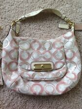 Coach Peony Multi Sequin Opart With ID Wallet