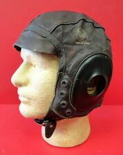 AAF TYPE A-11  FLYING HELMET-RARE EXTRA LARGE SIZE
