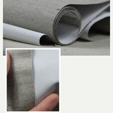 Premium Quality Triple Primed Artist Blank Canvas Roll 1.6m x 5m Pure Linen