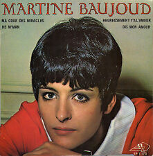 MARTINE BAUJOUD HEY M'MAN FRENCH ORIG EP CLYDE BORLY