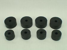 Motor Mount Hard Rubber Donut / Biscuit Set, 8pcs: 55-57 Chevy Pass, 55-59 Truck