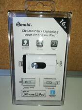 Sanho Gmobi iStick Clé USB pour Apple iPhone/iPad avec connecteur Lightning 16G