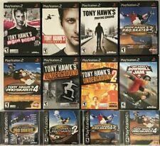 Tony Hawk Games (Playstation 2) Ps2 Tested