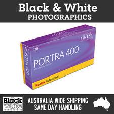 5 Rolls Kodak Portra 400 120 Colour Film
