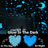 200 X Pcs Wall Glow In The Dark Star Stickers Kids Bedroom Nursery Room Decor PS