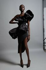 ATTENTIVE Ruffled Dress by MATICEVSKI Size 12 (Australian)