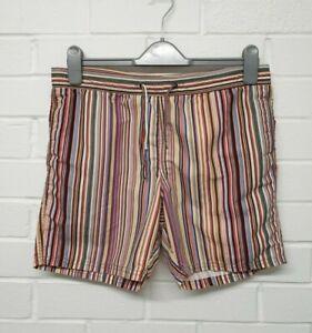 A1. Paul Smith Junior Boys Swim Shorts Stripe Age 14