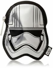 Loungefly Star Wars Coin Bag Captain Phasma Zip Coin Bag/Case New!
