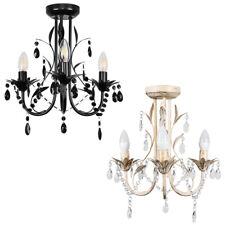 3 Way Chandelier Ceiling Light Fitting Traditional Design Lounge Light LED Bulb
