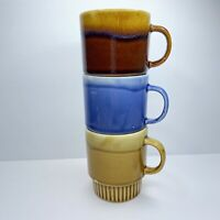 Vintage Stackable Glazed Drip Coffee Cup MCM