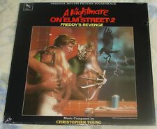 A NIGHTMARE ON ELM STREET 2 (Christopher Young) rare orig. sealed lp (1986)