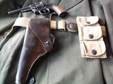 WWI US Army G&K Leather Holster 1918 AG For Colt or S&W M1917 Revolver