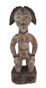 Ancienne Statue Punu rituel Fetiche Pounou Gabon Art coutumier africain 17232