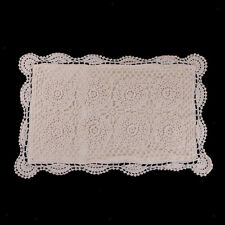 Vintage Cotton Handmade Crochet Lace Pillow Case Cushion Cover Decoration