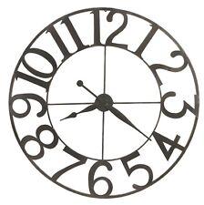 "625-674 New Large Wrought Iron Gallery Clock By Howard Miller ""Felipe"" 625674"