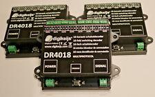 Digikeijs™ 3x DR4018 16-Kanal Schaltdecoder H0 digital z21 Modellbahn Piko™Roco™