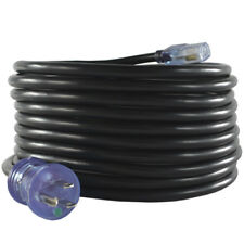 Conntek 25231-BK 5-15P to C13 14/3 15 Amp Hospital Grade Power Cord, 20ft. Black