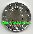 MONACO 2012 - 2 Euro munt Prins ALBERT
