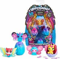 HATCHIMALS CollEGGtibles, Wilder Multipack with 4 Mix and Match Wings