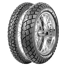 Coppia gomme pneumatici Pirelli Scorpion MT 90 AT 90/90-21 54V 150/70 R 18 50V