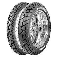 Coppia gomme pneumatici Pirelli Scorpion MT 90 AT 90/90-21 54V 150/70 R 18 50V