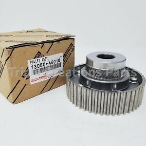 1305046010 GENUINE Toyota PULLEY, CAMSHAFT TIMING LH 13050-46010 OEM US STOCK