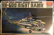Academy 1/48 Usaf Combat Rescue Helicopter Hh-60 Night Hawk Model Kit #1613