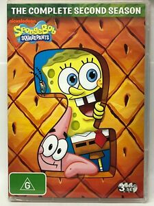 SpongeBob Squarepants - Complete Second Season - DVD Set - AusPost with Tracking