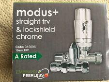 Modus straight TRV & Lockshiels chrome