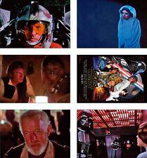 Star Wars 1977 Film Grande Nuovo CARTOLINA Set
