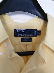 Ralph Lauren Polo Mens Shirt, Blaire, 100% Cotton Size XL