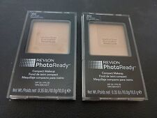 Revlon PhotoReady Compact Makeup - RICH GINGER  #350 - TWO - Both New & Sealed