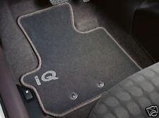 Genuine Toyota IQ Carpet Floor Mats RHD Black PZ410-I0353-FF