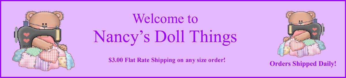 Nancy's Doll Things